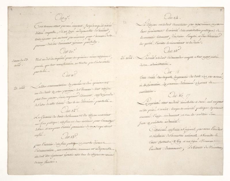 La Déclaration des Droits de l'Homme et du Citoyen Dafan145