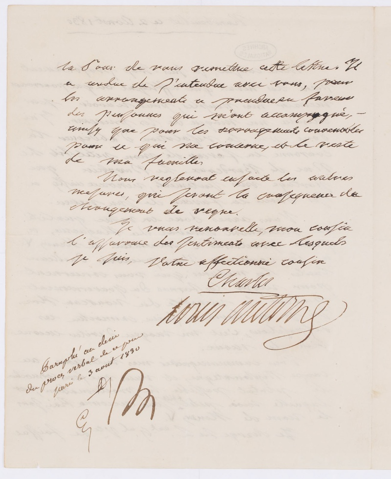 Le comte Charles-Philippe d'Artois, futur Charles X - Page 2 Dafan175