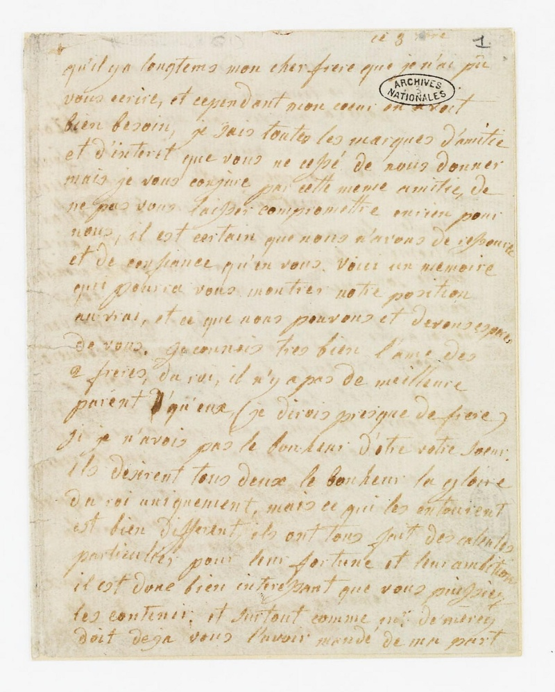 La correspondance de Marie-Antoinette avec son frère Léopold II Dafanc10