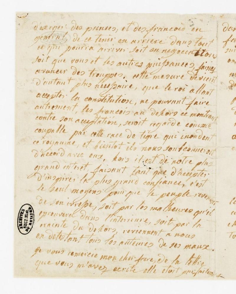 La correspondance de Marie-Antoinette avec son frère Léopold II Dafanc11
