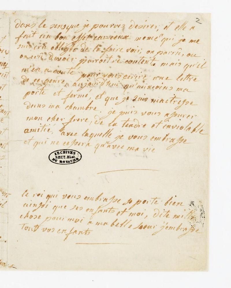 La correspondance de Marie-Antoinette avec son frère Léopold II Dafanc12