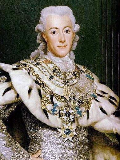 Le roi Gustave III  de Suède Gustav11