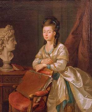 "Hesse - Louise de Hesse-Darmstadt, duchesse de Saxe-Weimar, surnommée ""le lys de Weimar"" Luise_10"