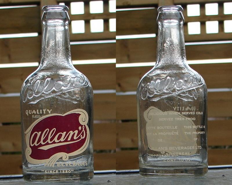 Allan's 10 onces Allans10