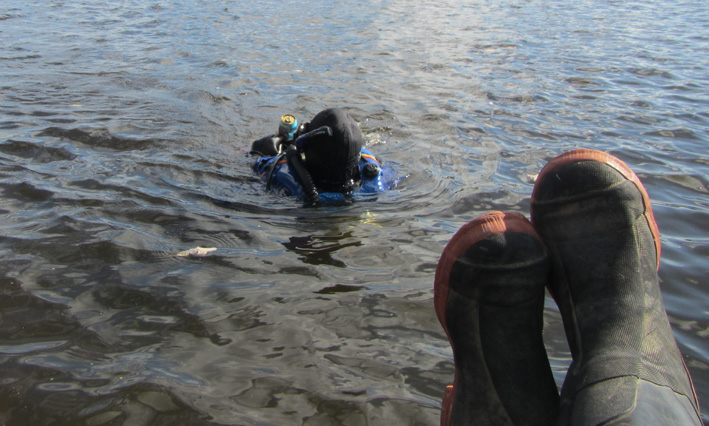Rapport de plongée - Rivière des Outaouais et Gatineau - 3 octobre 2014 10410