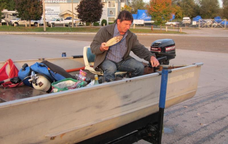 Rapport de plongée - Rivière des Outaouais et Gatineau - 3 octobre 2014 11110