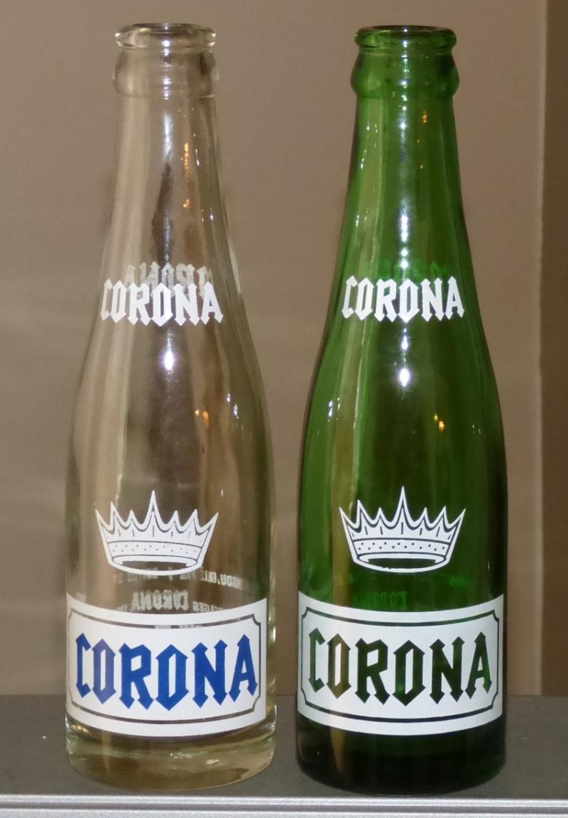 Bouteille de liqueur CORONA - Verdun / ACL / claire et verte - 7oz 2coron10