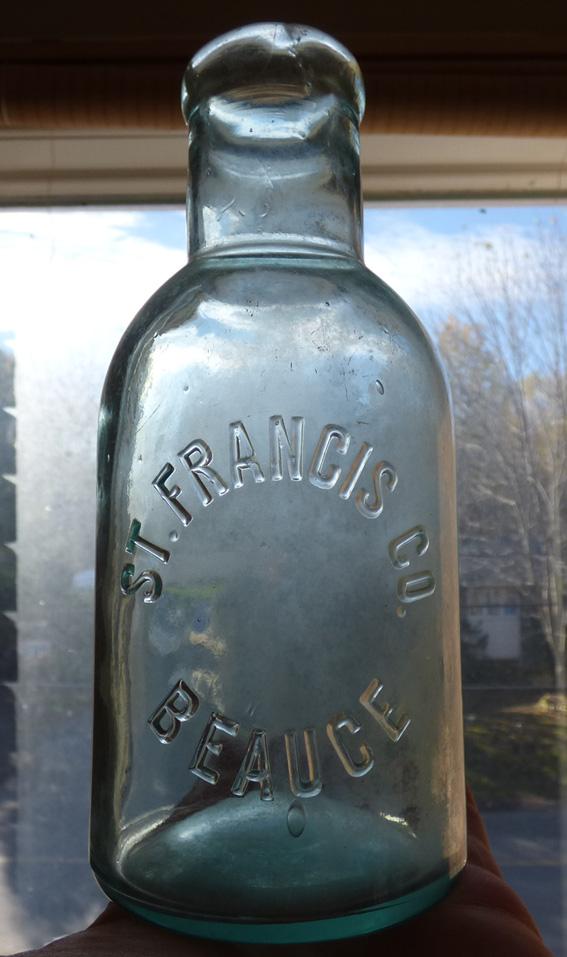 Pot - Bouteille 'St. Francis Co. / Beauce' - BIMAL Beauce10