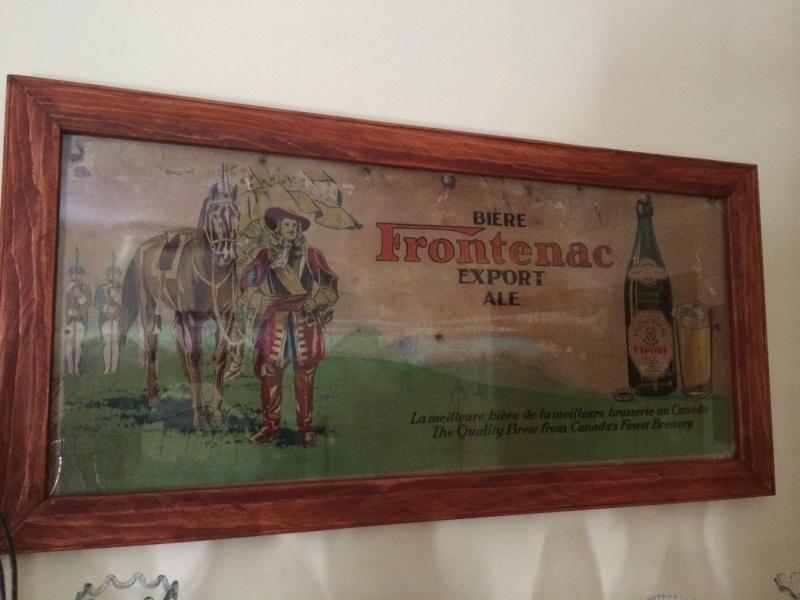 affiche de taverne frontenac Fronte10