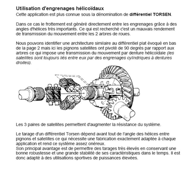 Mécanique divaguante - Page 2 Torsen10