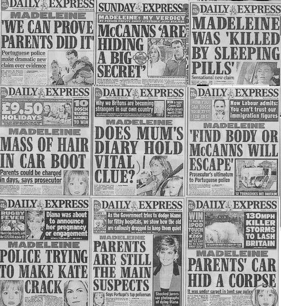 Daily Express headlines Expres10