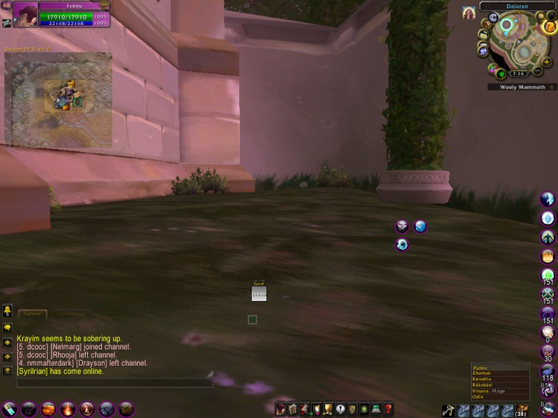 What's your UI look like? Wowscr11
