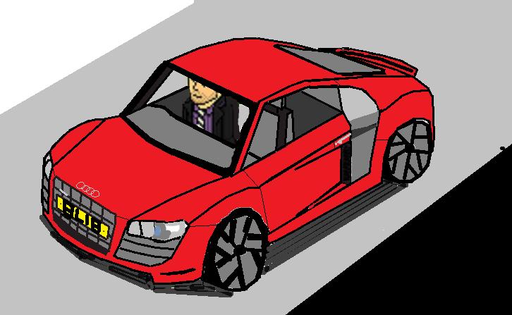 u think my last car was good, behold, The Audi R8 TSI V10 quattro Audi_r11