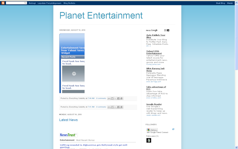1st Ever Hourly Giveaway Chance !!! Planet10