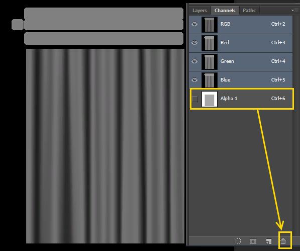 [Fiche] Créer une texture transparente (voile rideau) avec Photoshop   1018
