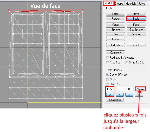 [Apprenti] Créer un rideau transparent (voile) 1217