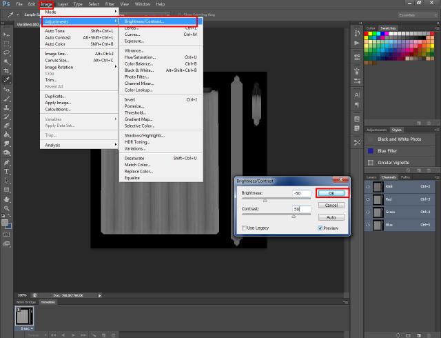 [Fiche] Créer une texture transparente (voile rideau) avec Photoshop   1515