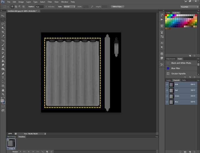 [Fiche] Créer une texture transparente (voile rideau) avec Photoshop   1614