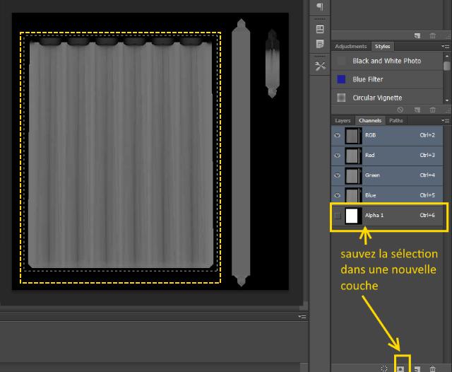 [Fiche] Créer une texture transparente (voile rideau) avec Photoshop   1714