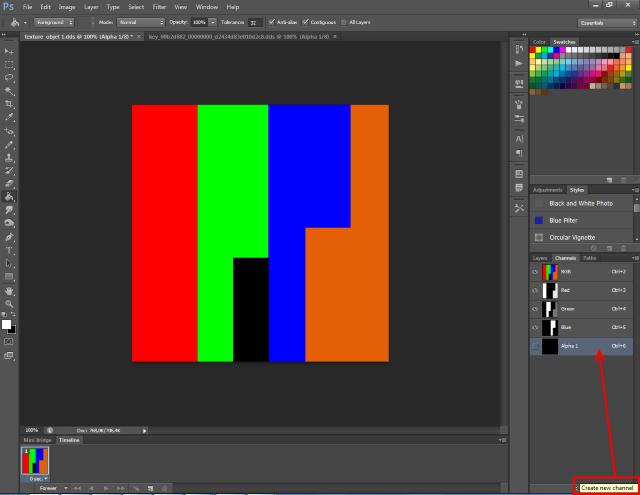 [Fiche] Créer un mask 4 couleurs au format DDS  avec Photoshop  416