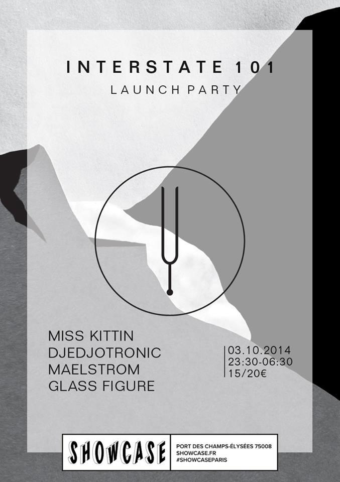 2014.10.03 - Djedjotronic - Interstate 101 Launch Party Set @ Showcase Paris (France) 13775610