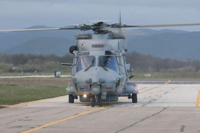 Réception du treizième NH90 Caïman Marine 211