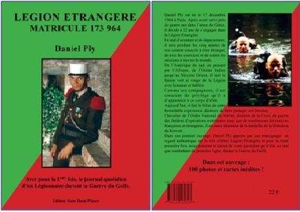 Daniel PLY a écrit un livre sur son vécu dans la Légion. Sans_t11