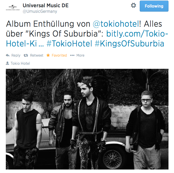 "Universal Music DE Talks About ""Kings of Suburbia"" Screen12"