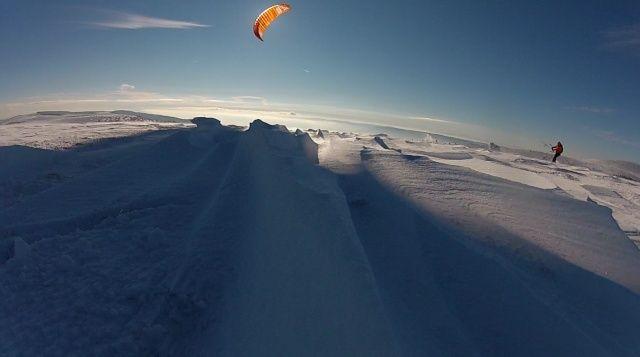 [Snowkite] Le Lundi 29/12 c'est permis, euh non c'est supeyres Supalt11