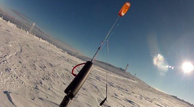 [Snowkite] Le Lundi 29/12 c'est permis, euh non c'est supeyres Supalt13