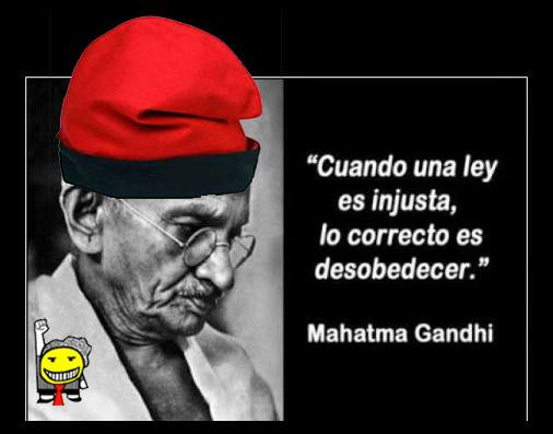 Humor gráfico Gandhi10