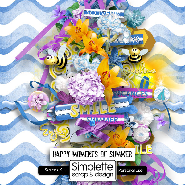 Happy Moments of Summer Simple11