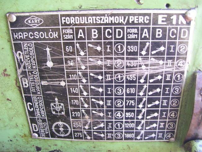 Kart (Karat) E1N, E2N, E3N 19430110