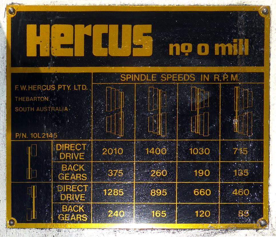 """Hercus Modèle """"O"""" Img610"""