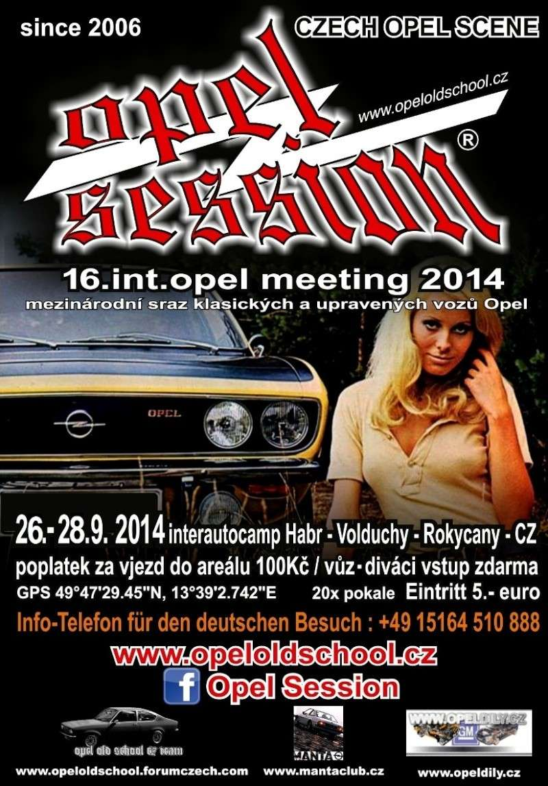 16. OPEL SESSION 2014 - Int. OPEL MEETING 26. - 28. 9. 2014 Plakat10