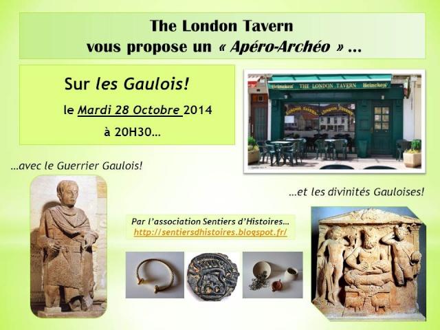 Apéro-Archéo sur les Gaulois à Saint-Dié-des-Vosges... Affich11