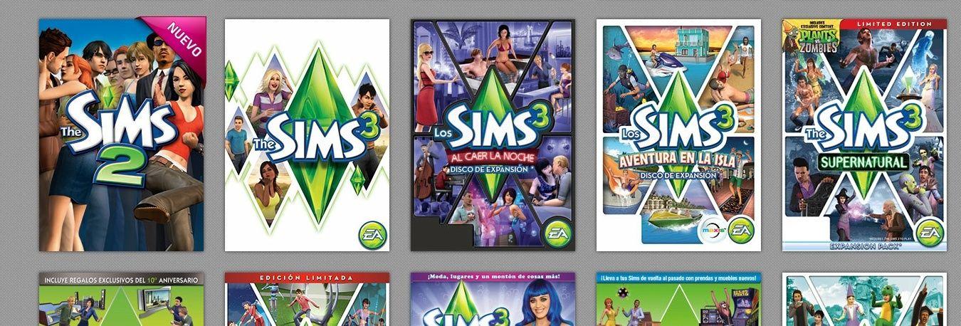 [Noticia] Gratis todos tus juegos de los Sims 2 con Origin.  Captur11