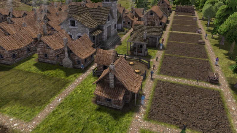 Banished and Minecraft Play Screen73
