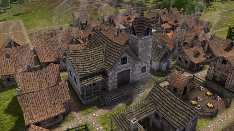 Banished and Minecraft Play Screen74