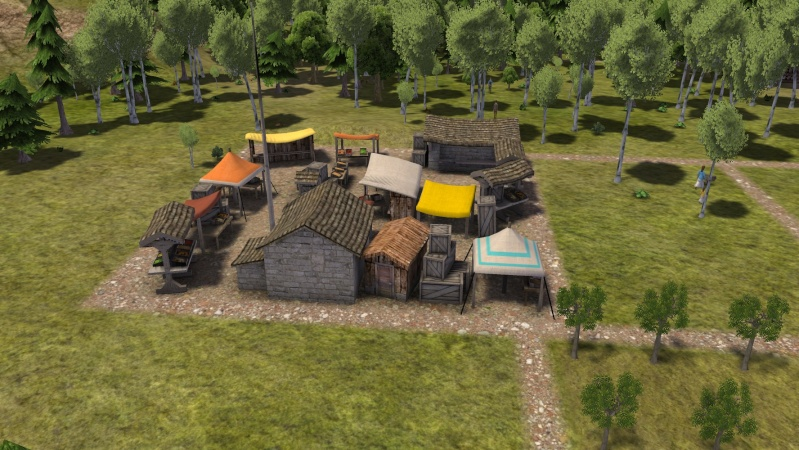 Banished and Minecraft Play Screen77