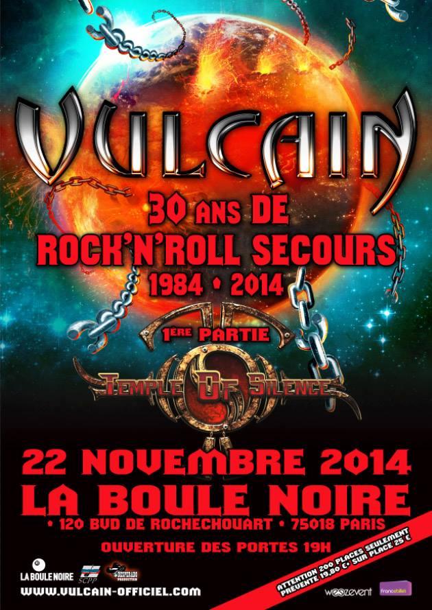 Vulcain à La Boule Noire (Paris) le 22 nov 2014 Flyer_10