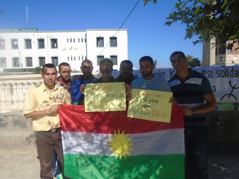 journée mondiale de soutien à «KOBANÊ» ( Aokas 01/11/2014) 1211