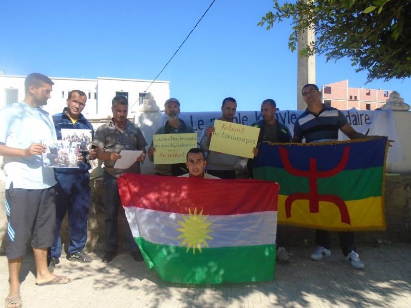 journée mondiale de soutien à «KOBANÊ» ( Aokas 01/11/2014) 1510