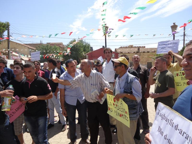 Rassemblement pour la liberté de culte et de conscience en Kabylie  à Akbou. Dsc02220