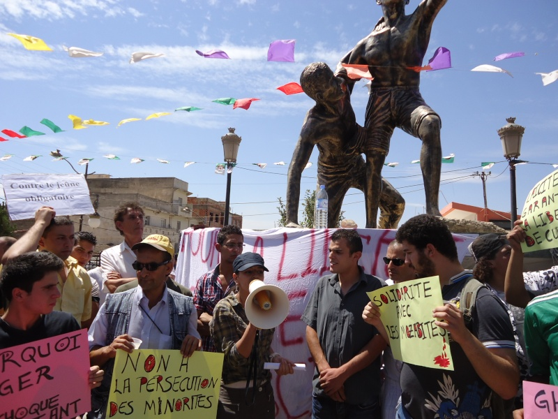 Rassemblement pour la liberté de culte et de conscience en Kabylie  à Akbou. Dsc02228