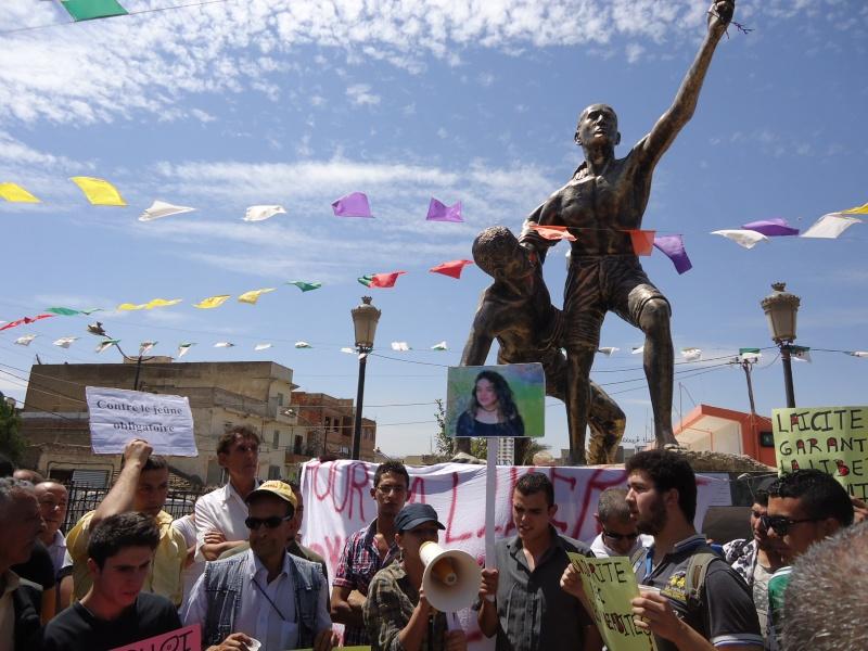 Rassemblement pour la liberté de culte et de conscience en Kabylie  à Akbou. Dsc02229