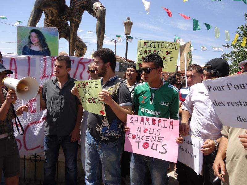 Rassemblement pour la liberté de culte et de conscience en Kabylie  à Akbou. Dsc02230