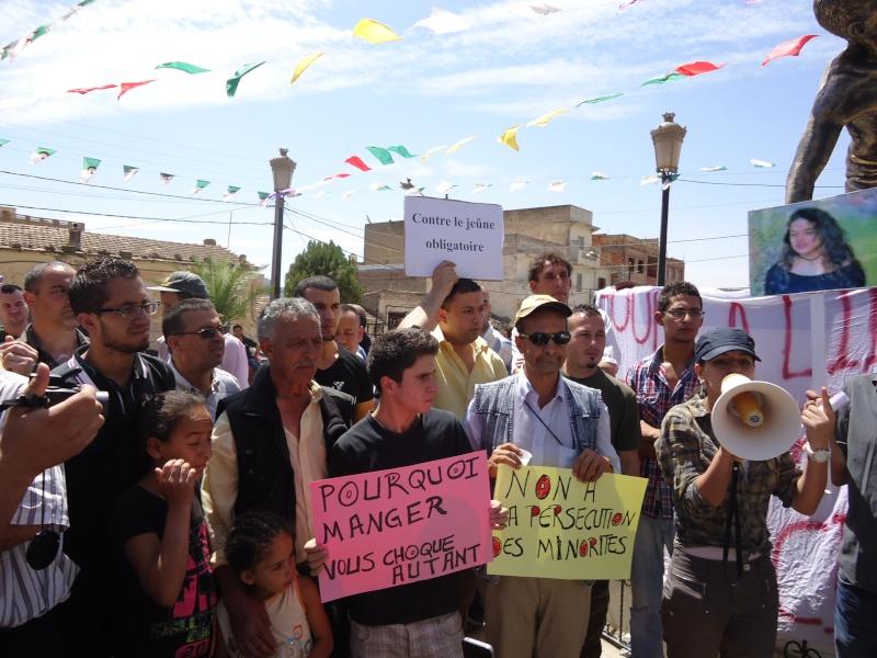 Rassemblement pour la liberté de culte et de conscience en Kabylie  à Akbou. Dsc02231