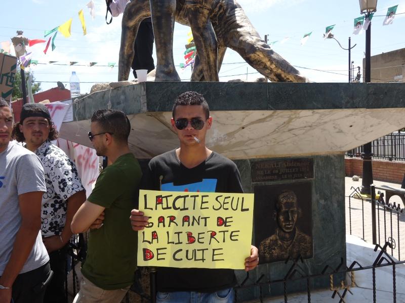 Rassemblement pour la liberté de culte et de conscience en Kabylie  à Akbou. Dsc02233