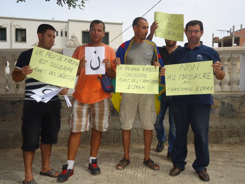Rassemblement de soutien aux chrétiens d'Irak et aux Yézidis à Aokas (20/09/2014) Dsc02454